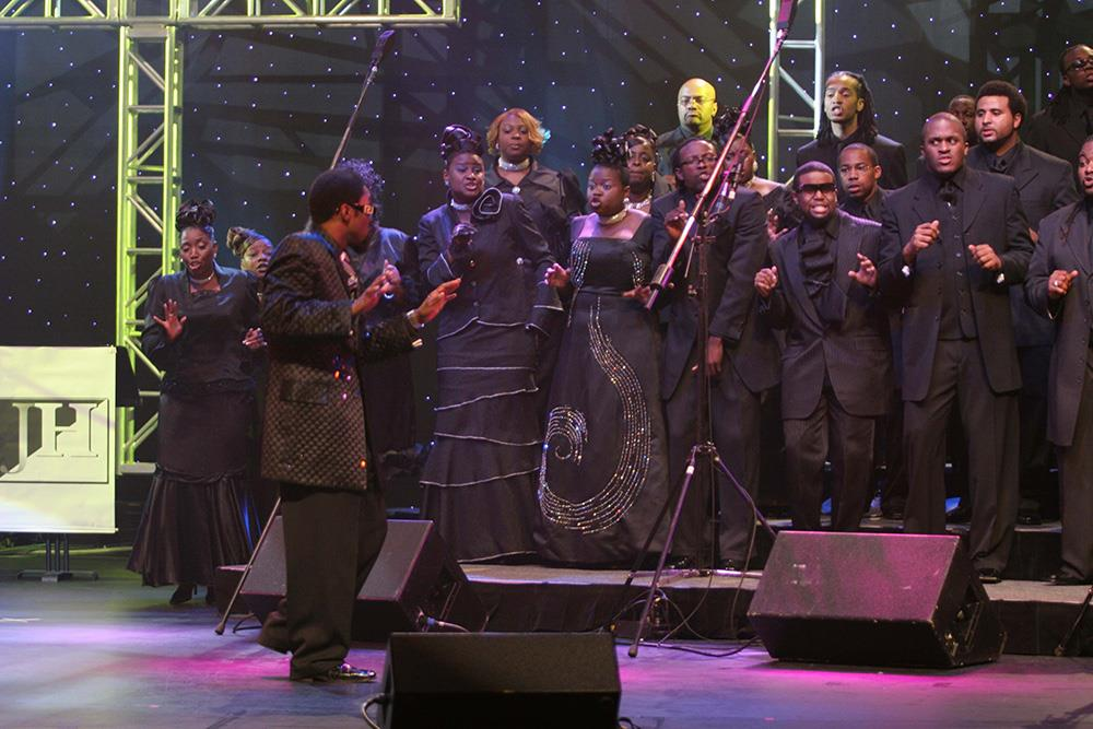 Nautilus Aviation presents the gospel concert for St. Stephens day at Teatro Massimo in Palermo